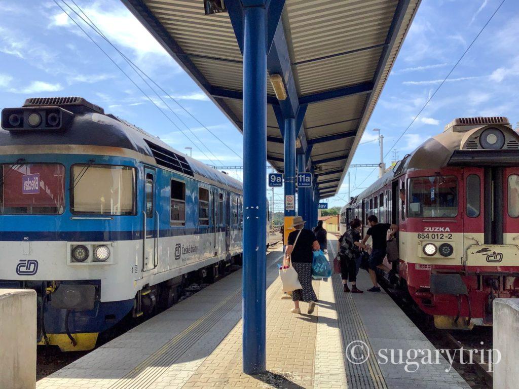 チェコ国鉄普通列車OS